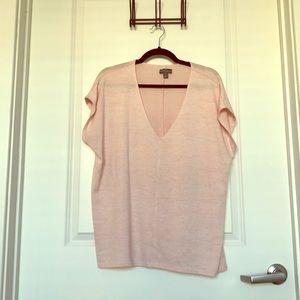 Market & Spruce pink blouse
